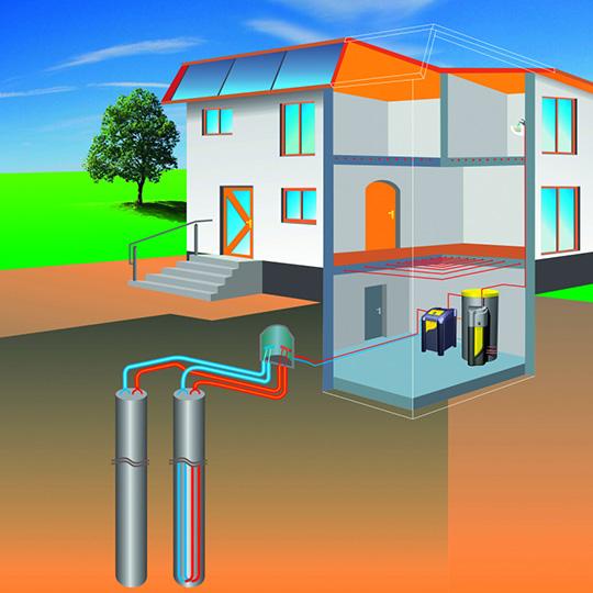 impianti idraulici civili geotermici