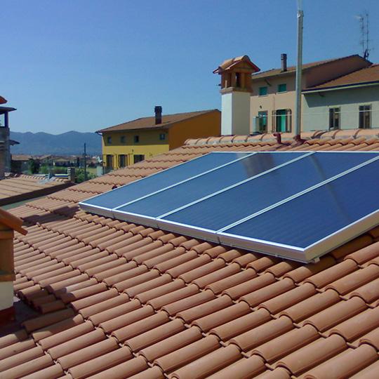 impianti idraulici civili pannelli solari termici