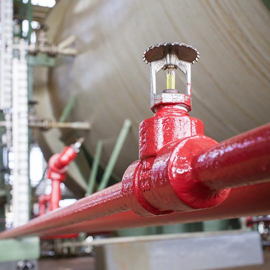 impianti idraulici industriali antincendio
