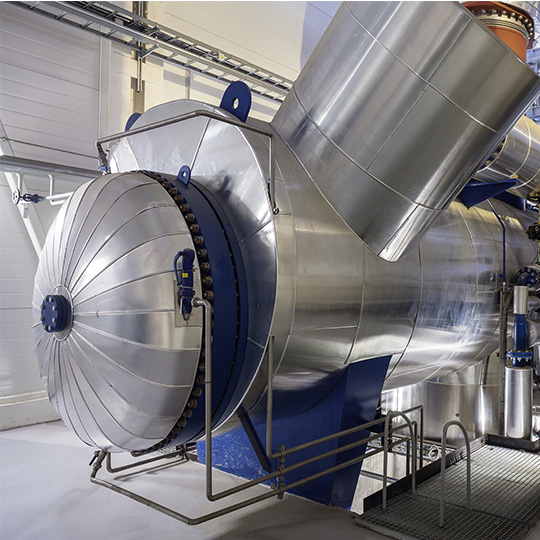 impianti idraulici industriali a vapore