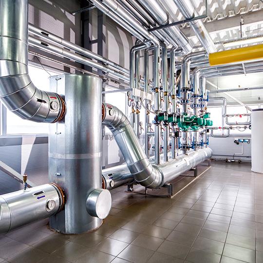impianti idraulici industriali riscaldamento