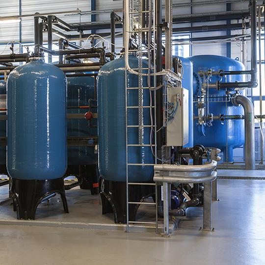 impianti idraulici industriali trattamento acqua