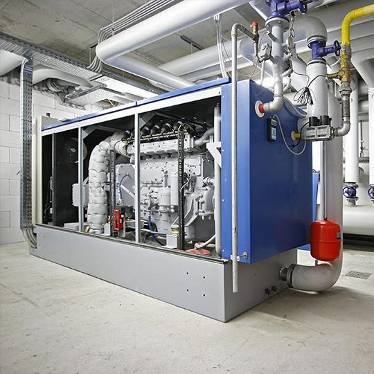 impianti idraulici terziario cogenerazione