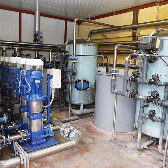 impianti idraulici terziario pressurizzazione acque